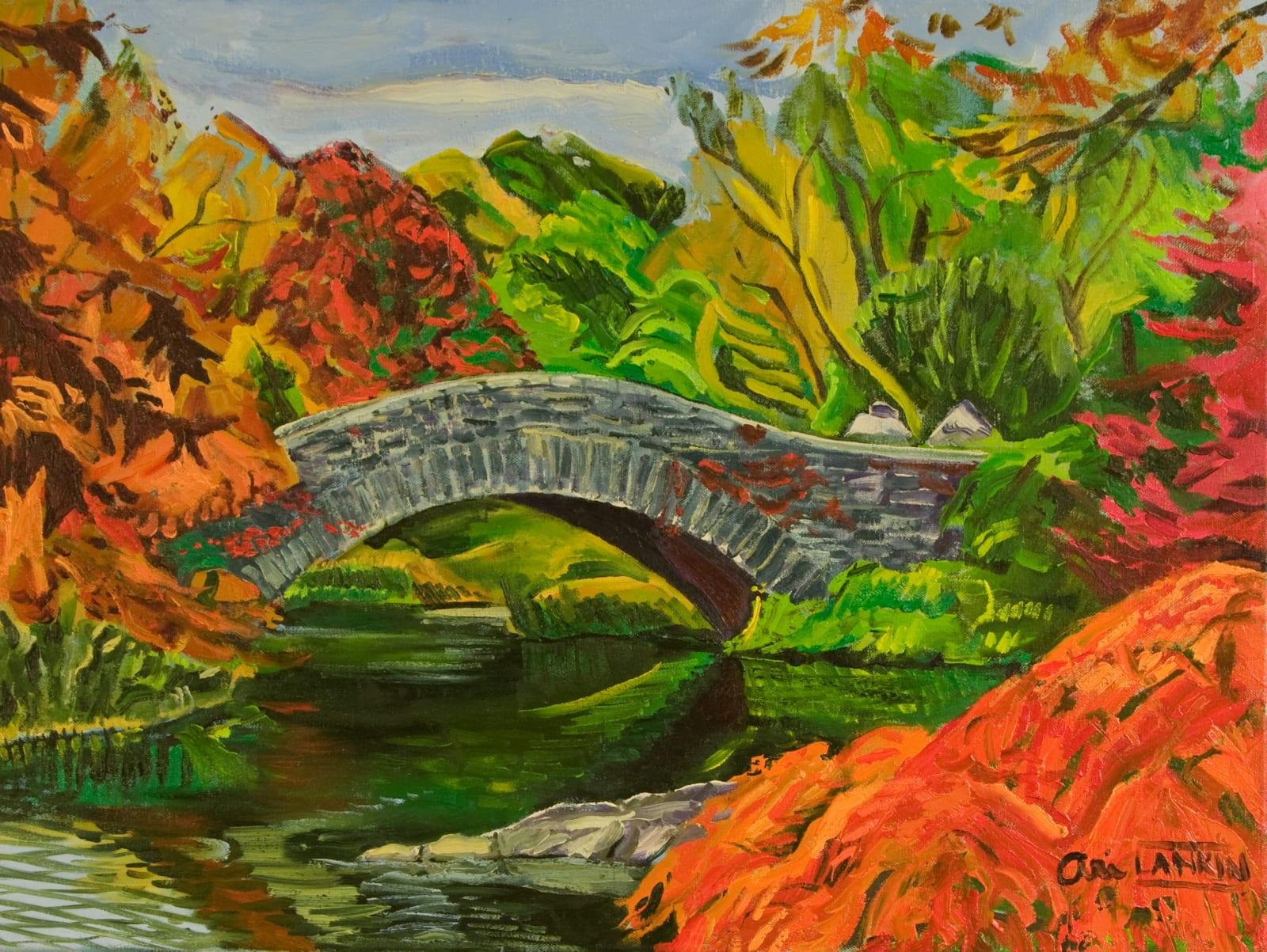 Ari Lankin, Gapstow Bridge, Central Park, 2015