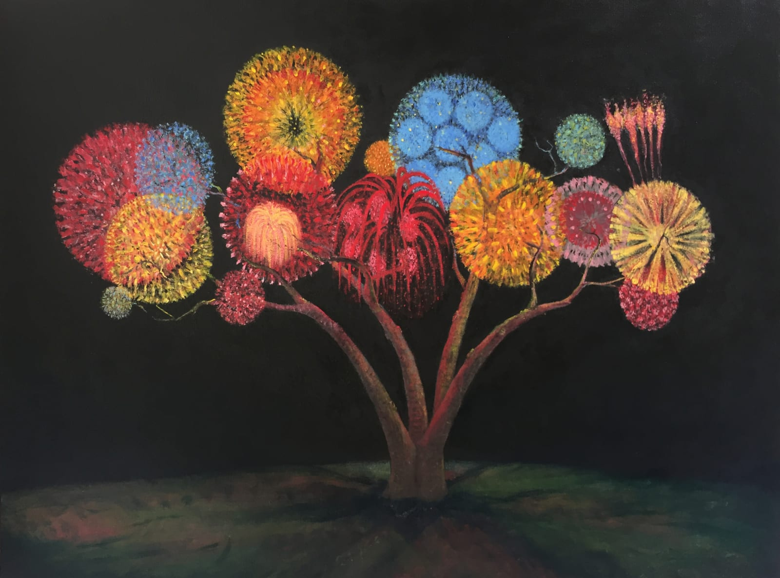 Ari Lankin, Tree IV, 2019