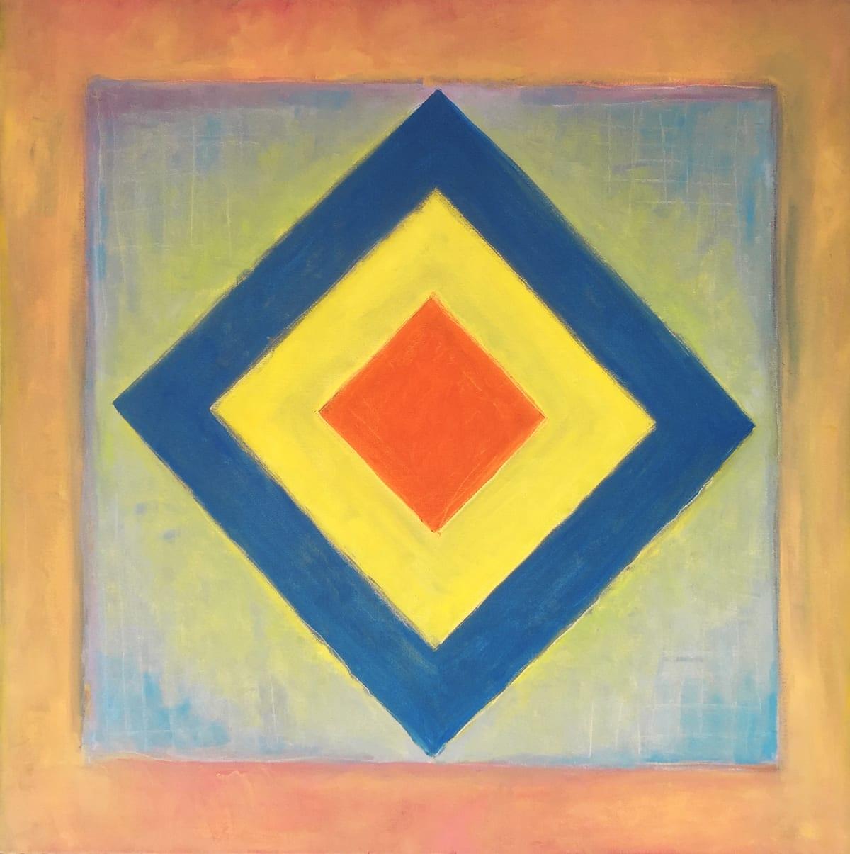 Ari Lankin, Blue Yellow Orange, 2018