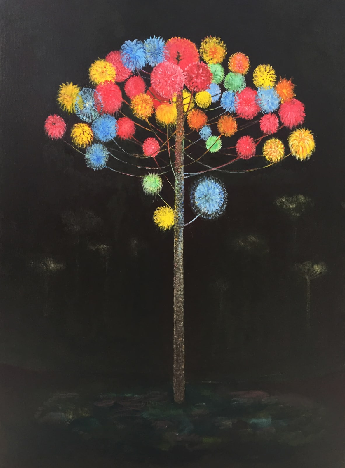 Ari Lankin, Tree II, 2019