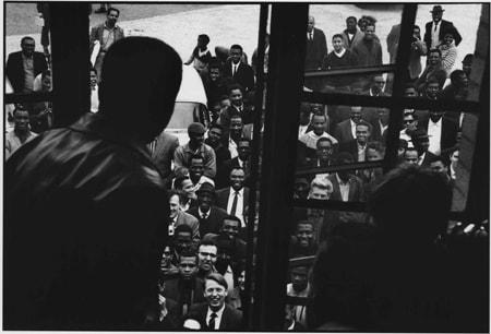 Gordon Parks, Muhammad Ali Greets Fans, London, England, 1966