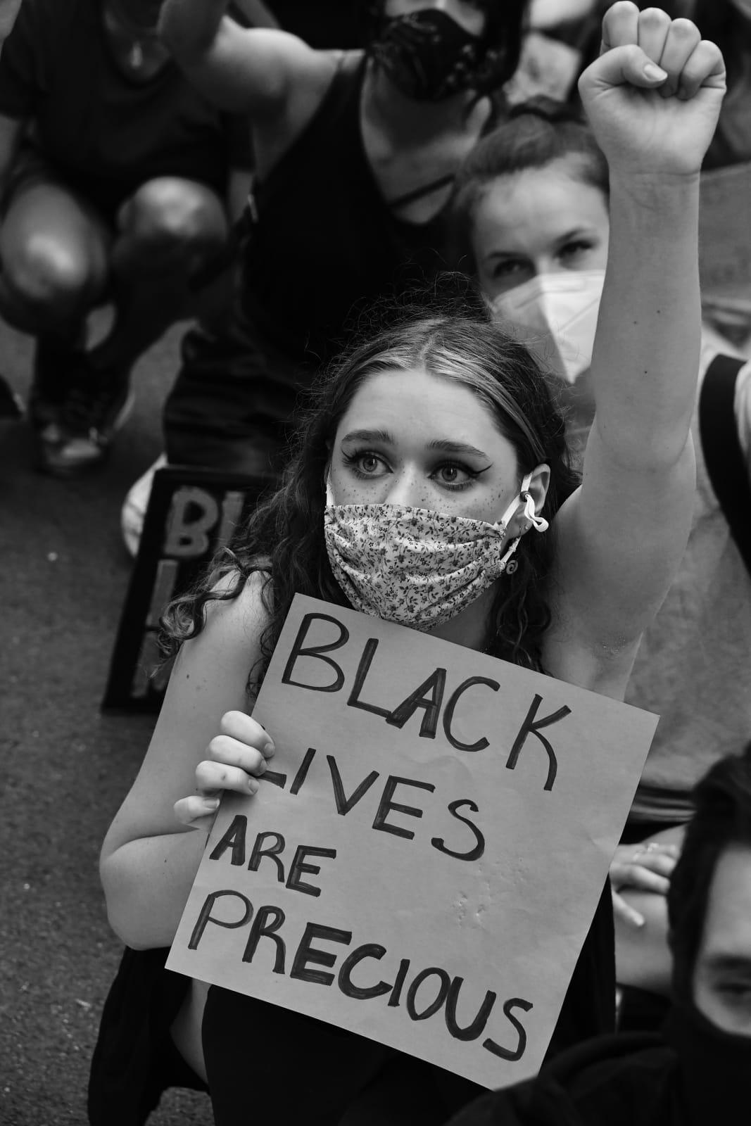 Builder Levy, Black Lives Are Precious, 2020