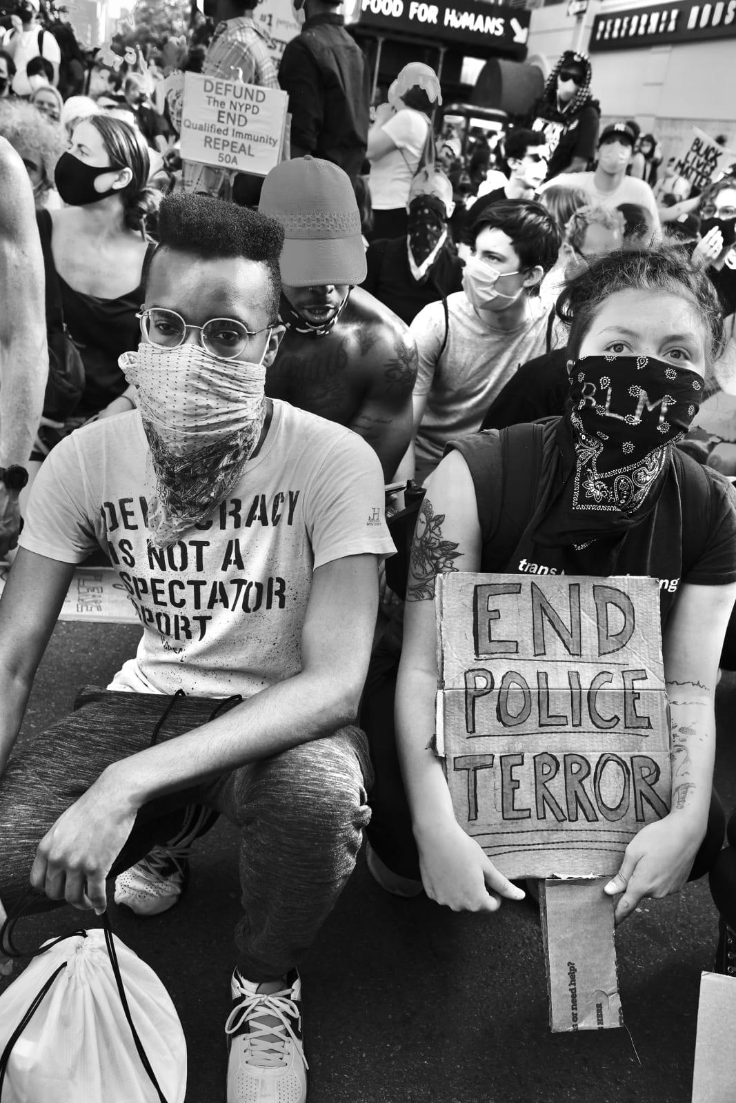 Builder Levy, End Police Terror, 2020