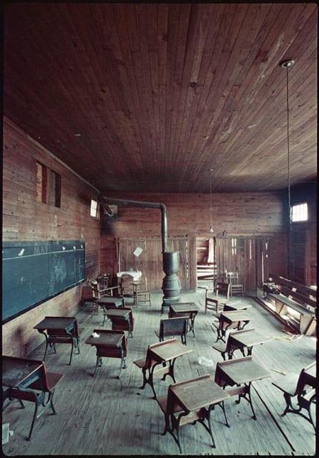 Gordon Parks, Black Classroom, Shady Grove, Alabama, 1956