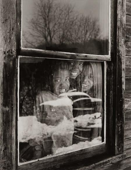 Builder Levy, Osage Window, Osage Scotts Run, West Virginia, 1970