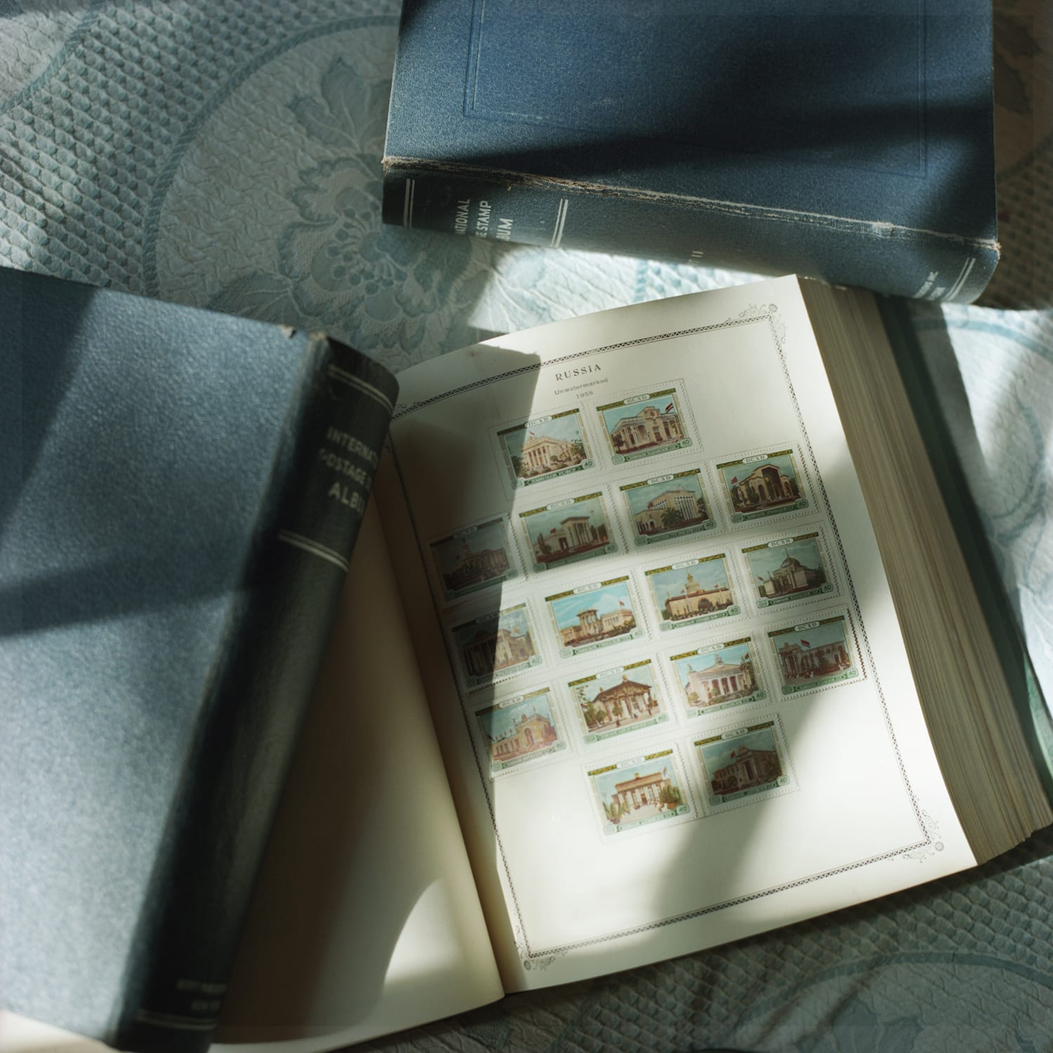 Aline Smithson, Stamp Collection, 2012