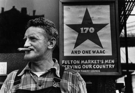 Gordon Parks, Fulton Fish Market Hooker, New York, New York, 1943