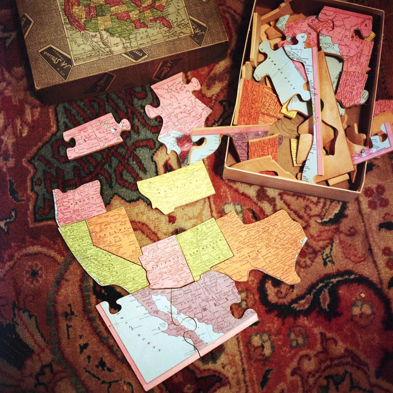 Aline Smithson, States Puzzles, 2012