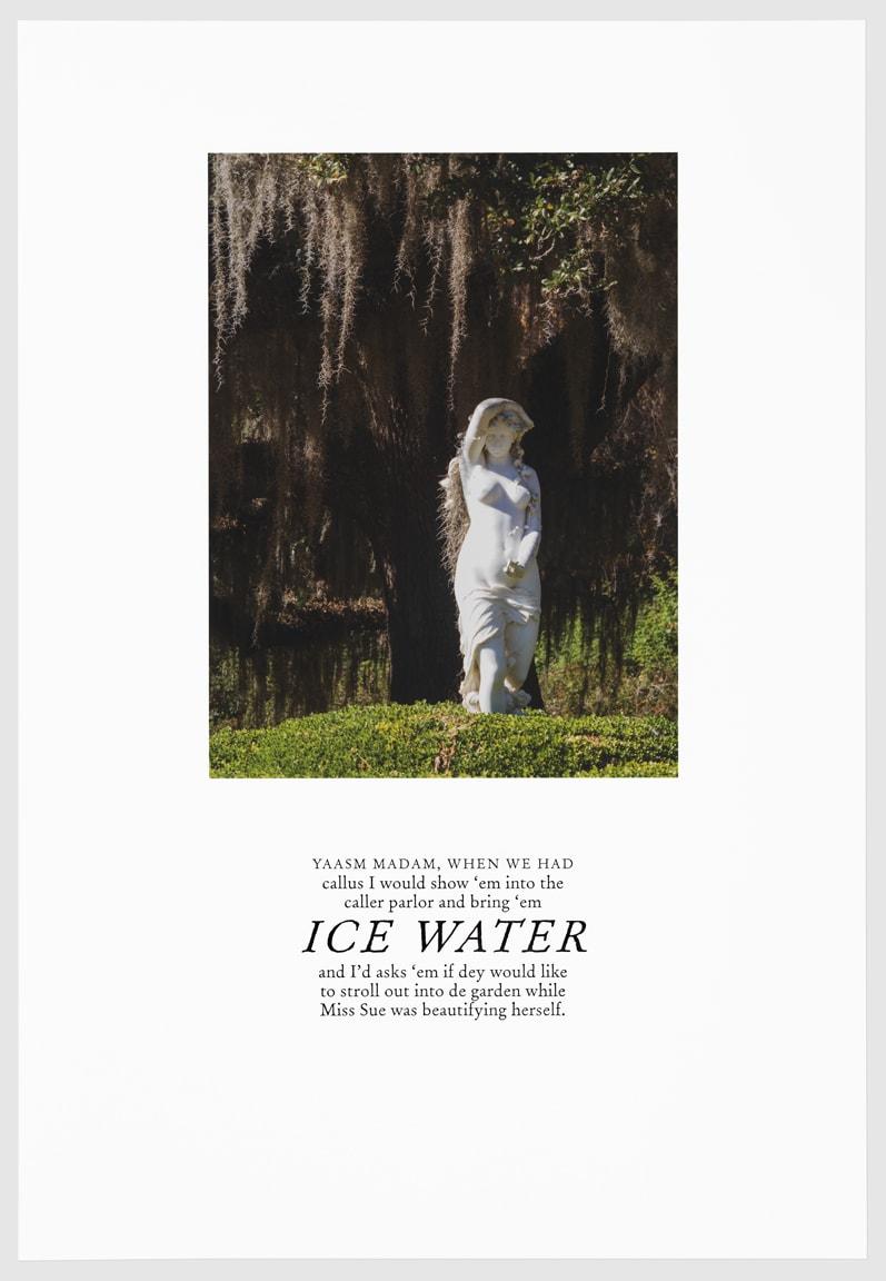 Keris Salmon, ICE WATER, 2016