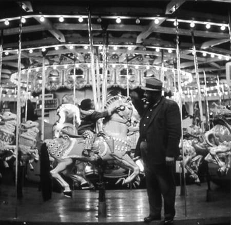 David Johnson, Carousel/Father & Daughter, 1950