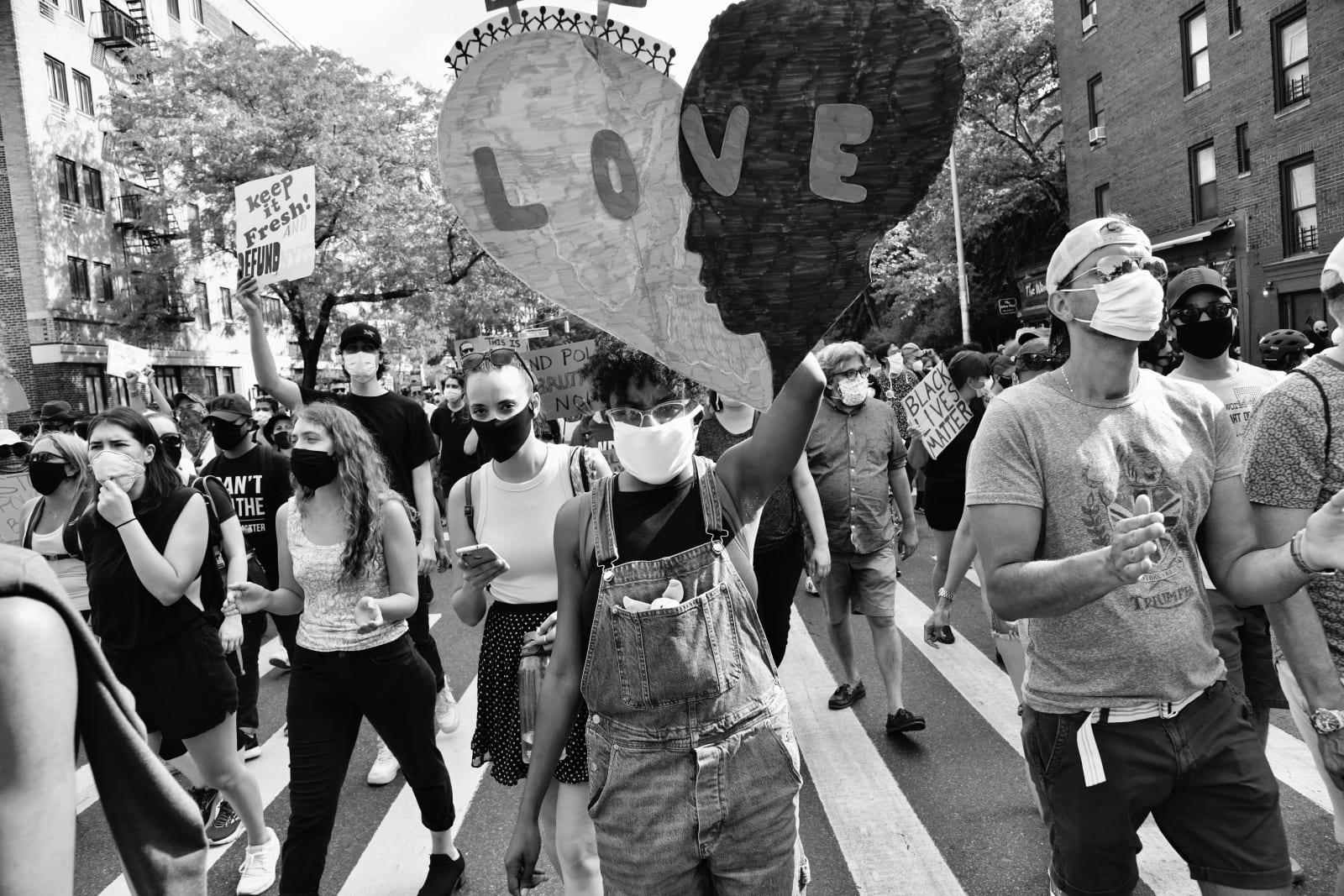 Builder Levy, Love, Black Lives Matter , 2020