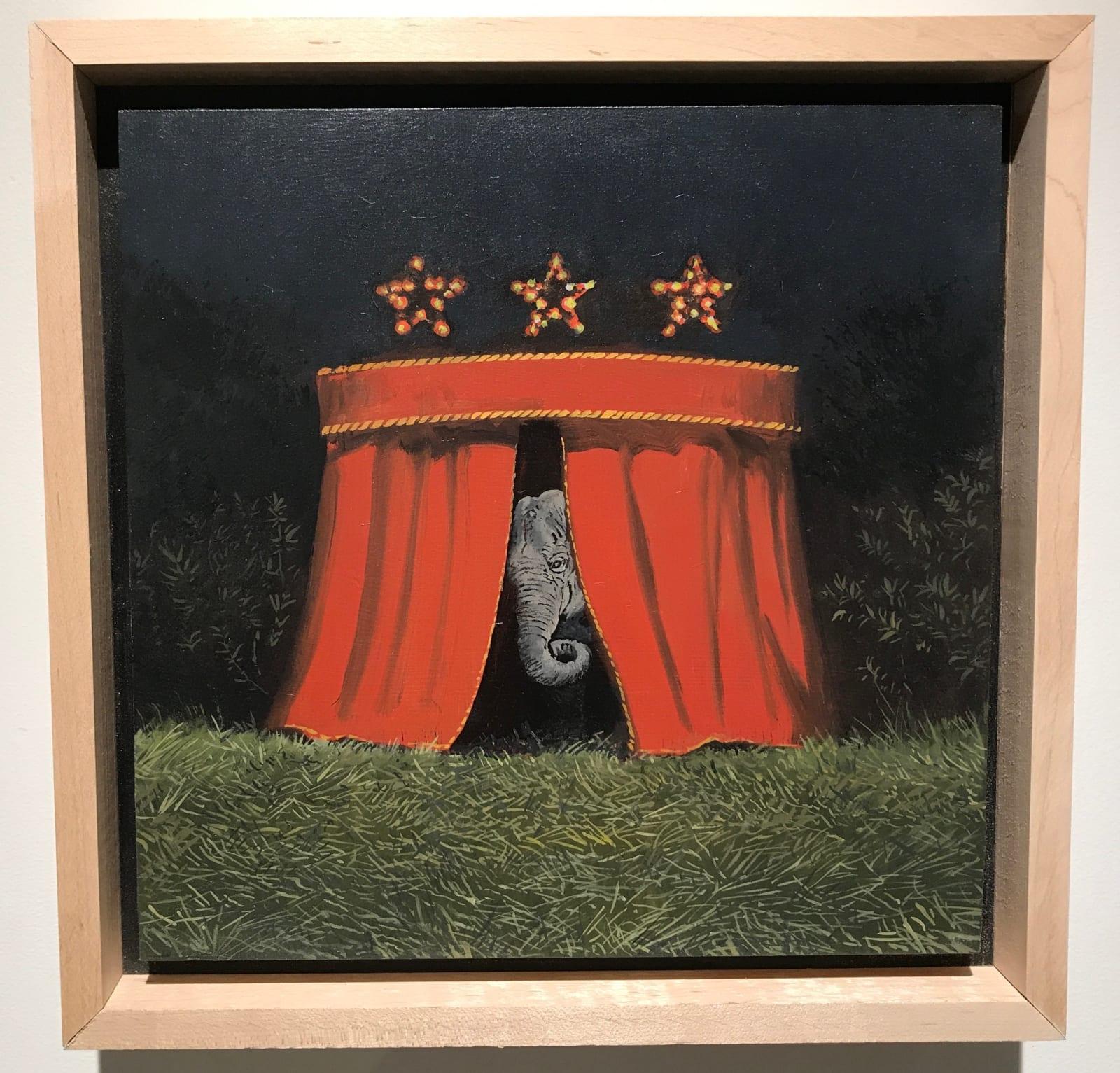 Daniel Blagg, Curtain Call, 2018