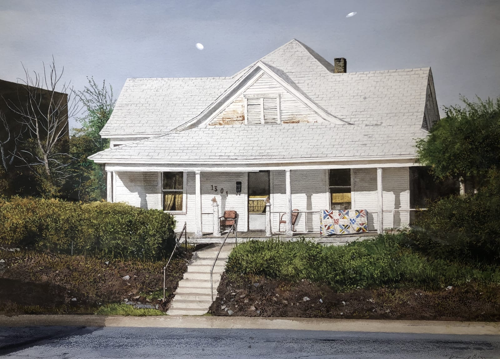 Daniel Blagg, Wright House, 2014