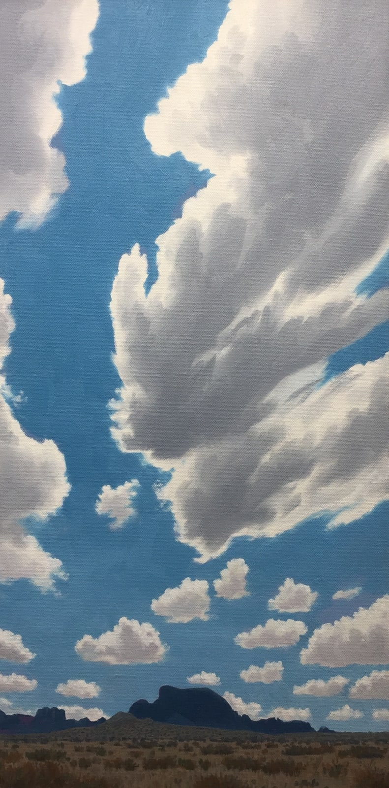 Dennis Blagg, Alsate and Dancing Cloud, 2018