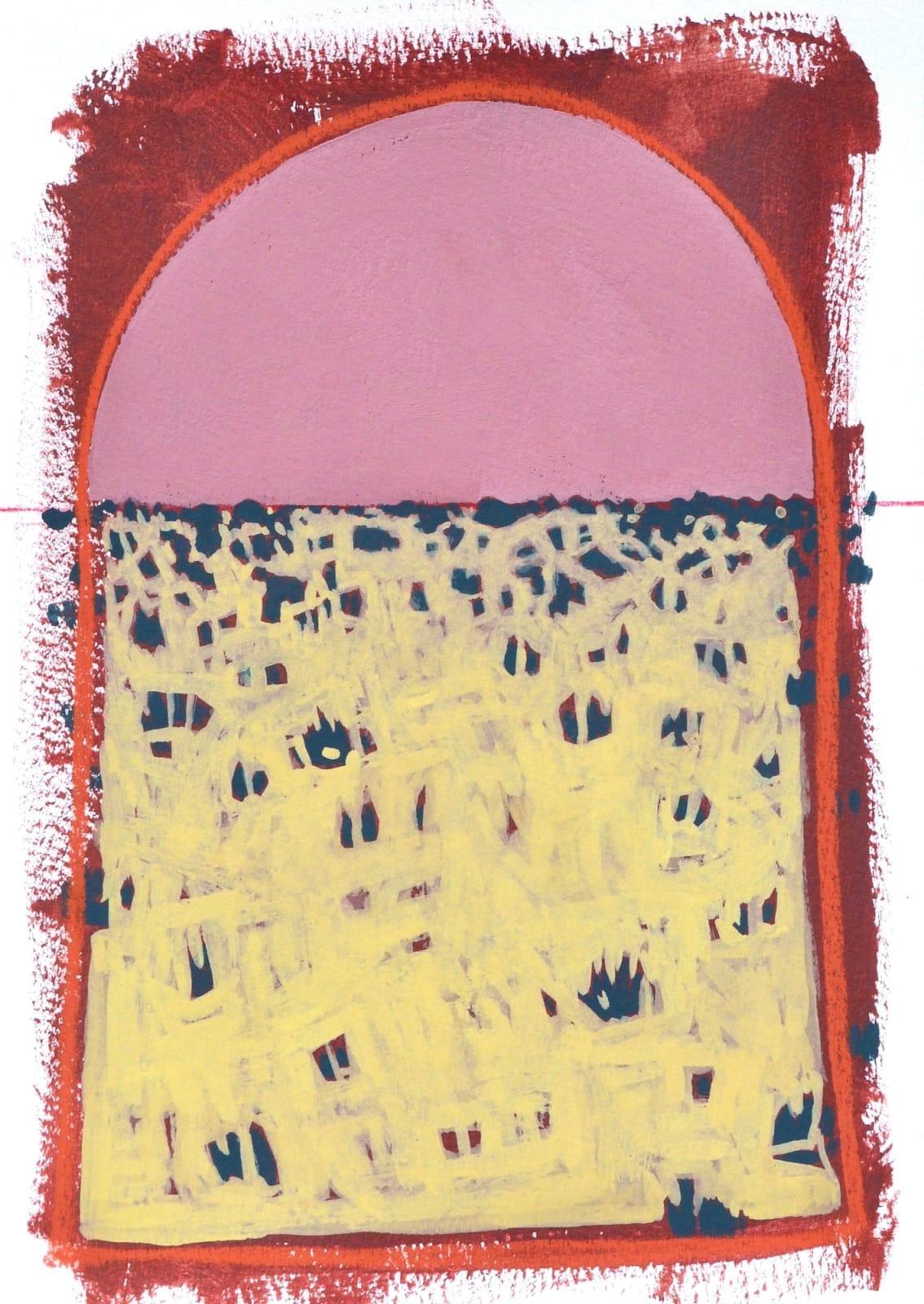 Layla Luna, Mini Desert Painting #09 (Best Level), 2018