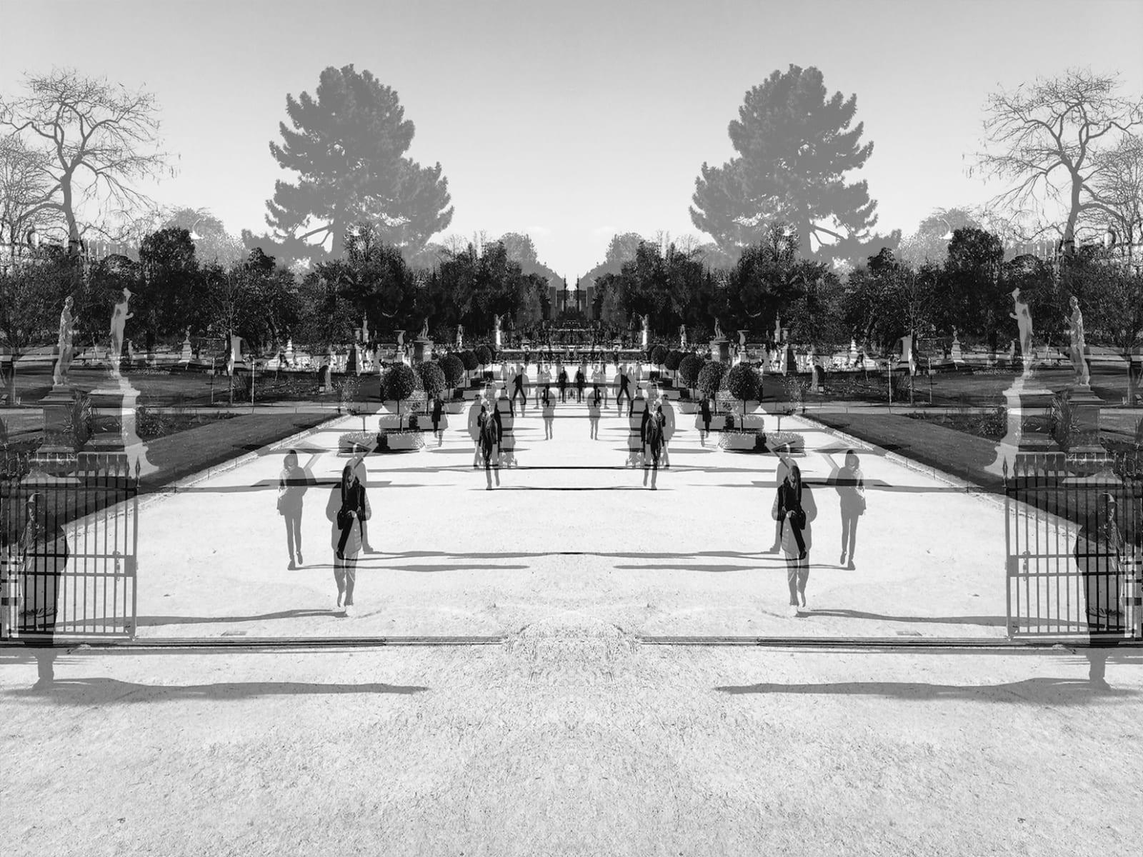 Alastair Whitton, Jardin des Tuileries II, Paris, 2018