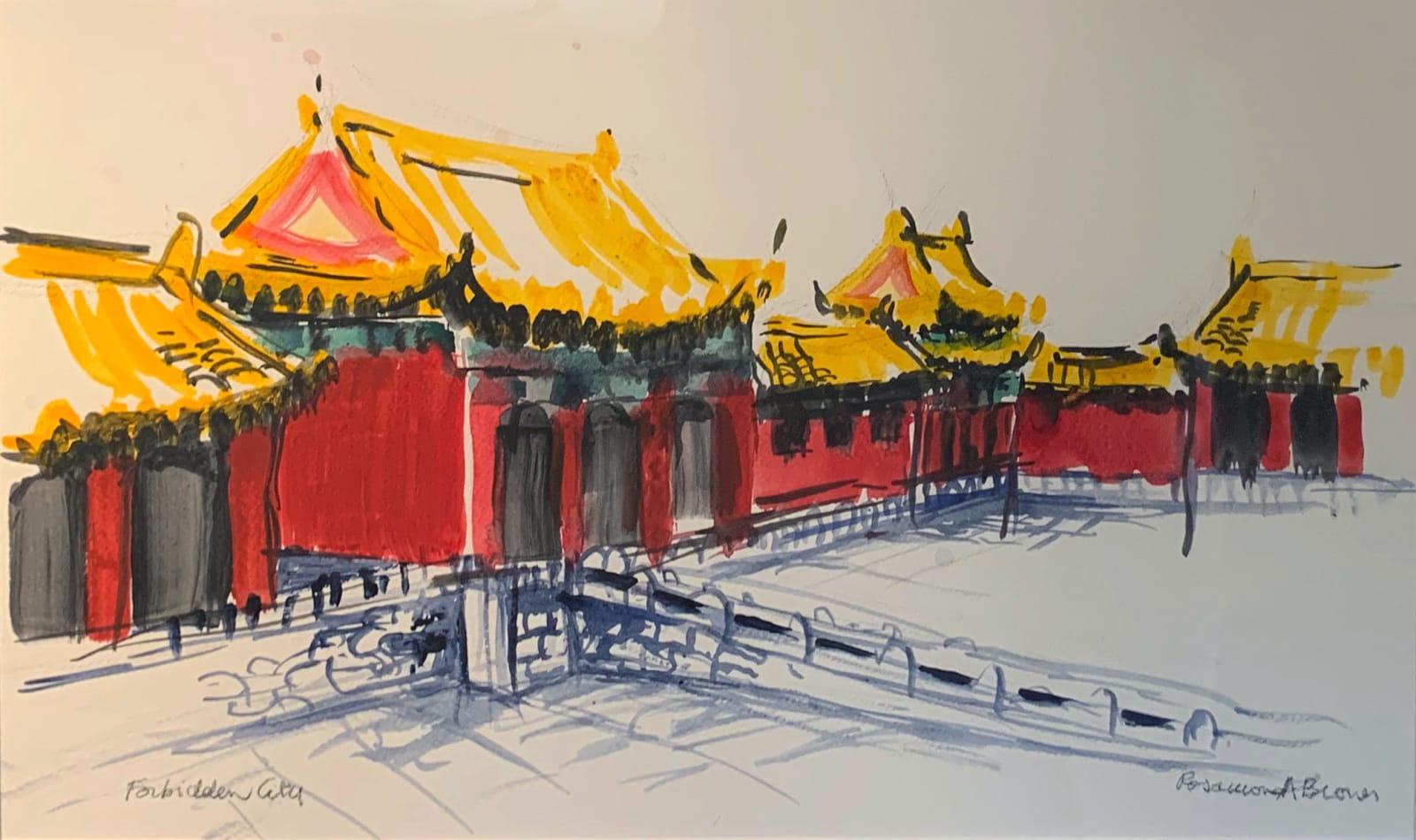 Rosamond Brown, Forbidden City, 2020