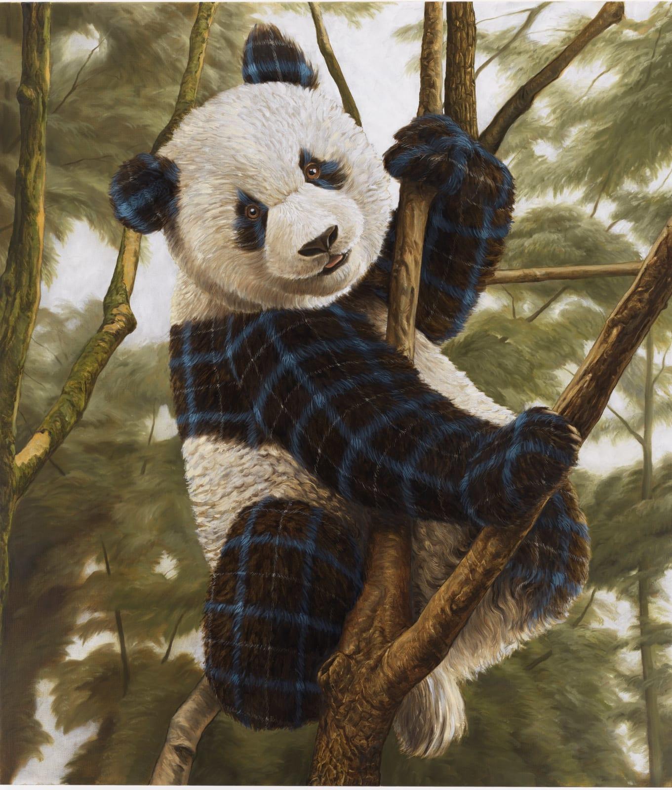 Sean Landers, Panda Cub, 2019