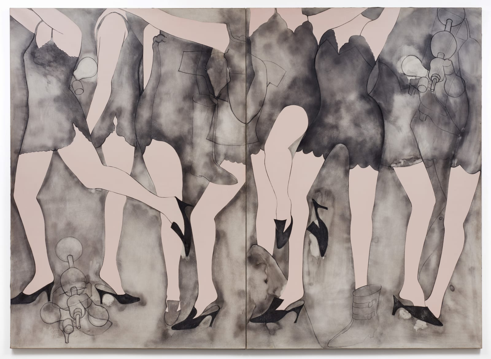 Jim Dine, Moving Girls & Dreams, 1965
