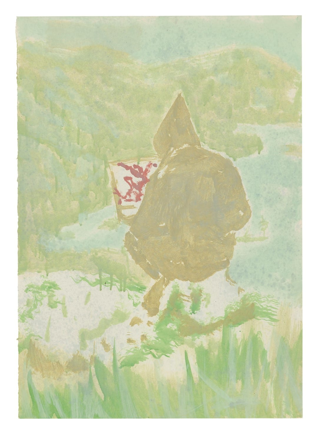 Peter Doig, Figure in Mountain Landscape (The Big...), 1998