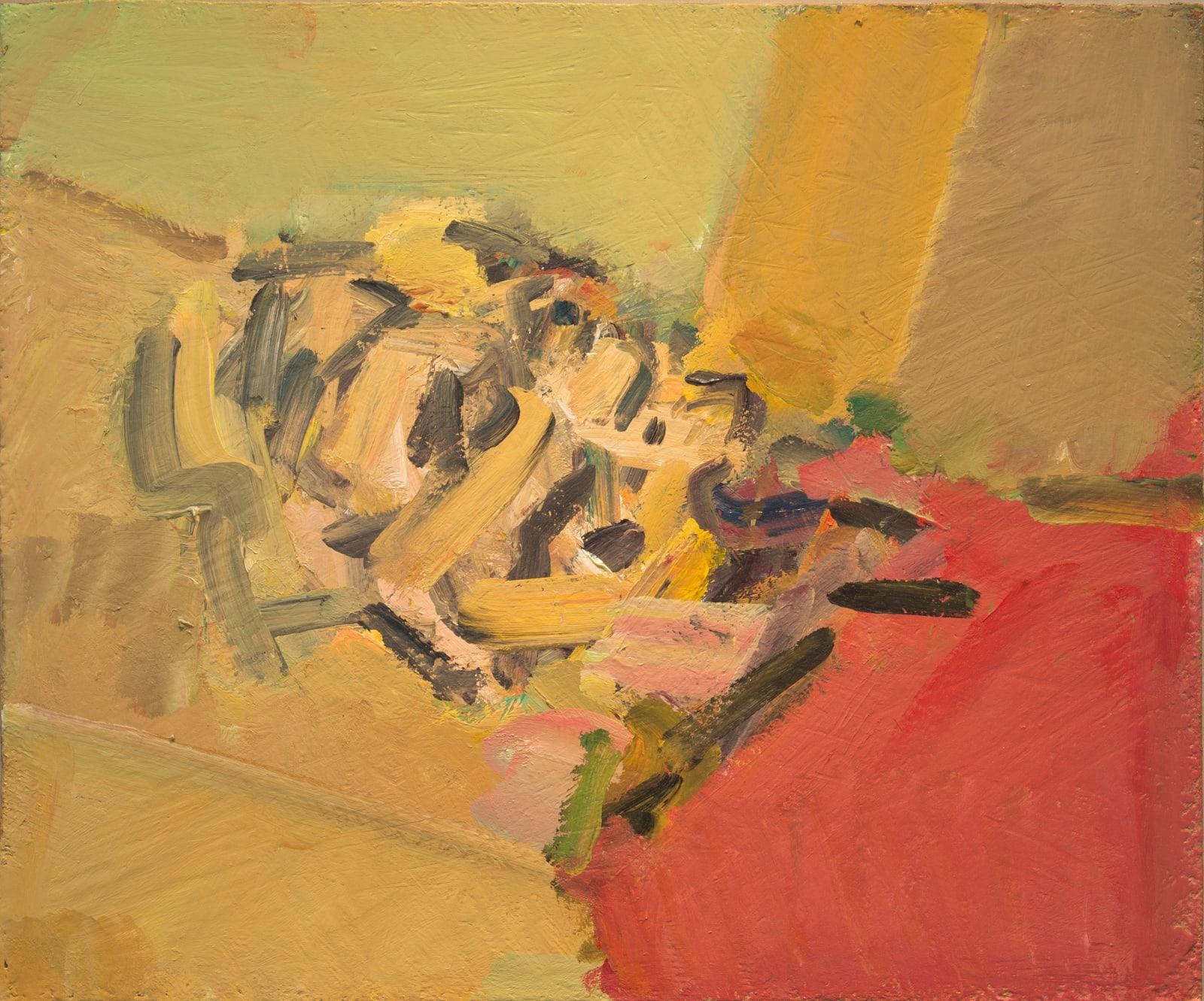 Frank Auerbach, Reclining Head of Julia II, 2011