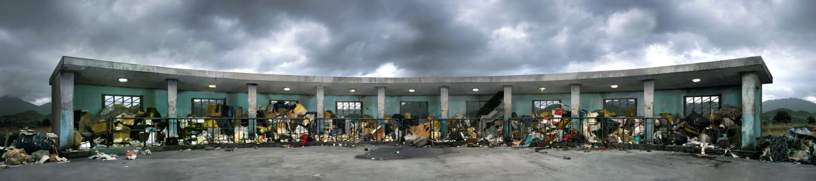 Chen Wei, Anonymous Station - Suppressed Scenery, 2007