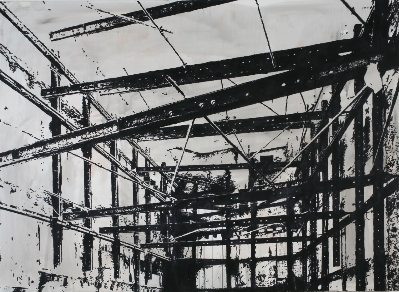 Heribert C. Ottersbach, Abstraktes Bild, 2010