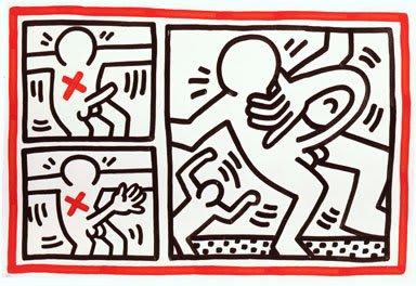 Keith Haring, Untitled, November 21, 1984