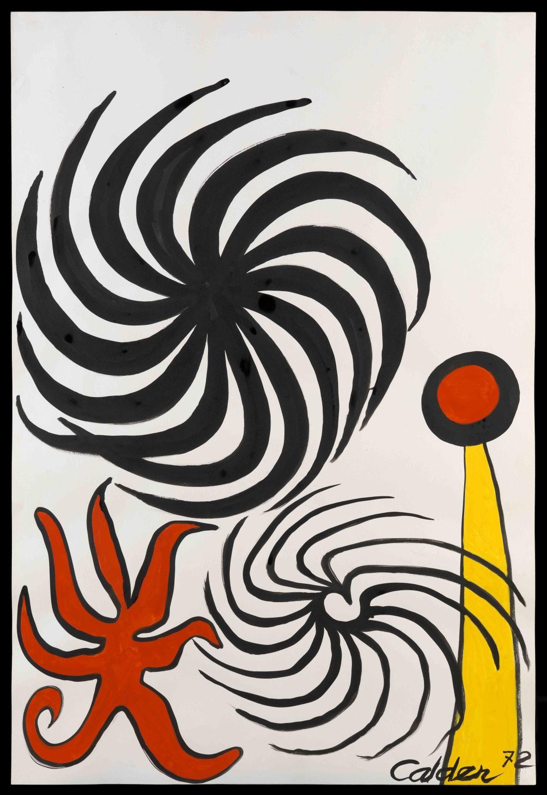 Alexander Calder, Untitled, 1972