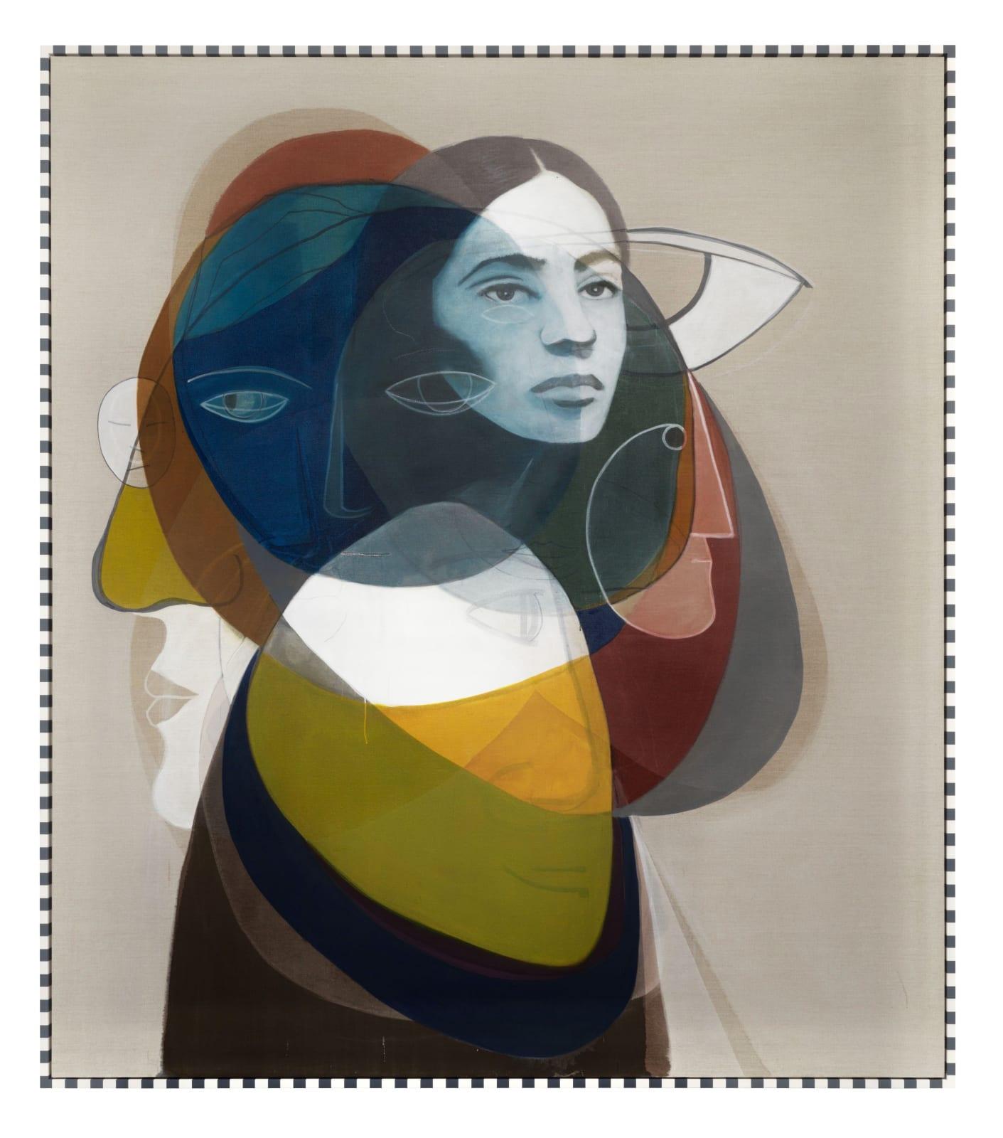 Matthias Bitzer, Layers of Alienation, 2018 | Marianne Boesky Gallery