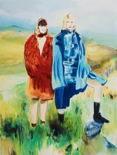 Lindsey Bull, The Hikers, 2019