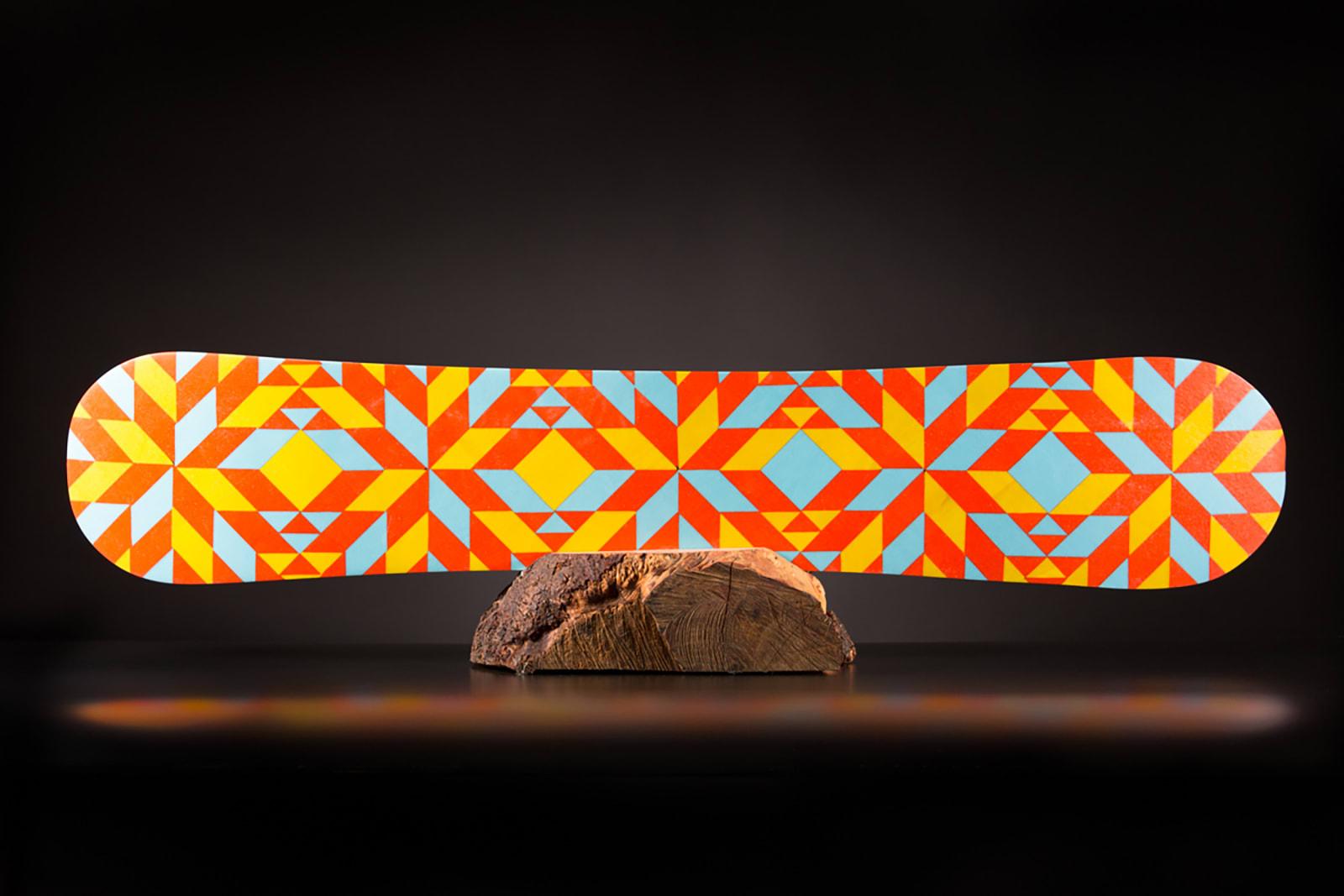 Brennan Kasperzak, Multi Color Range and Quilt, 2017