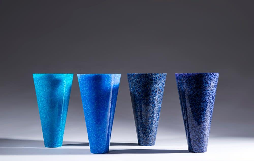 Alison Lowry, Symphony of Blue, 2016