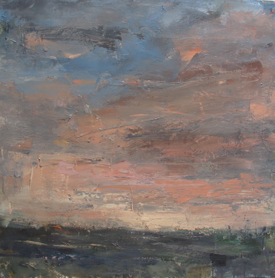 Louise Balaam, Early light, moorland