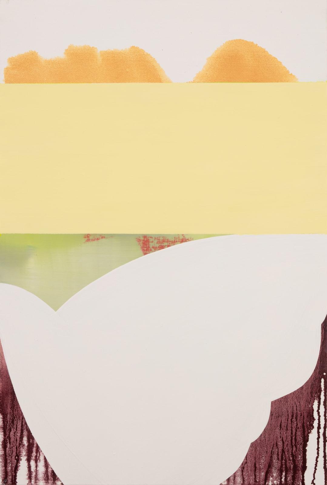 Sarah Hinckley, Yellow Moon 2, 2020