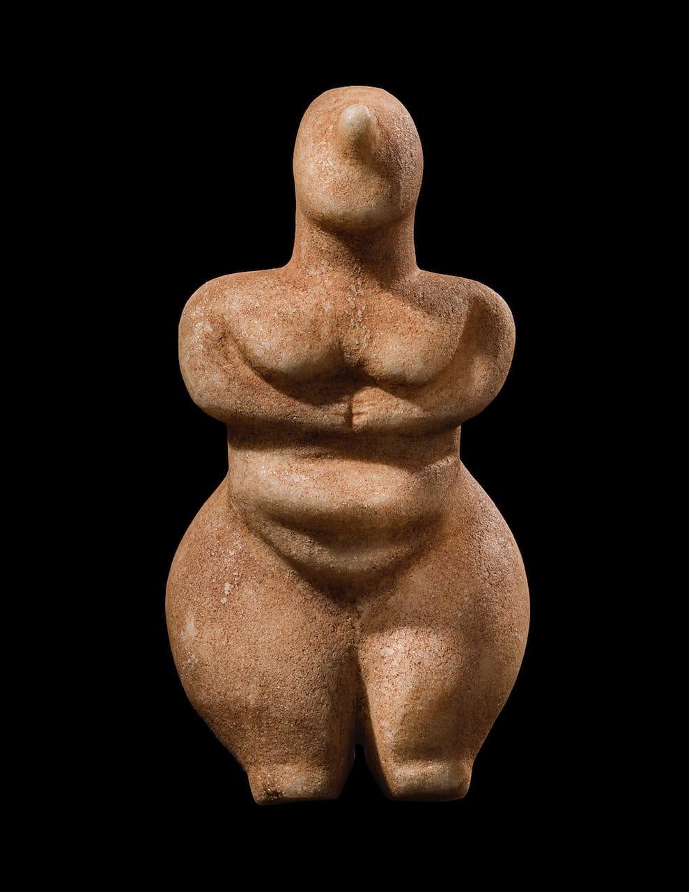 4. Fertility Figure Greek, Neolithic Period, fifth to fourth millennium B.C.