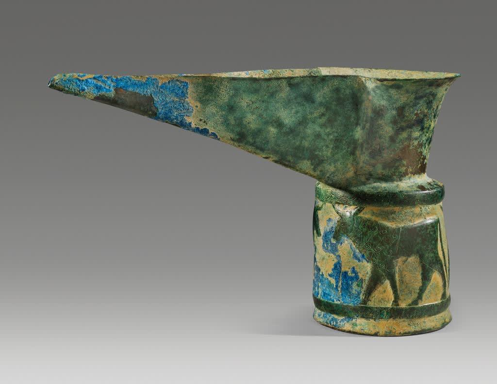 6. Spouted Ewer Near Eastern, Luristan, ca. 1000 - 700 B.C.