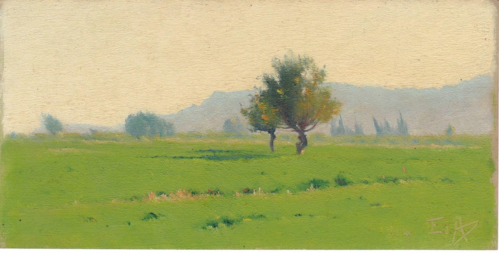 EDOUARD ATHÉNOSY, P-123, 1914