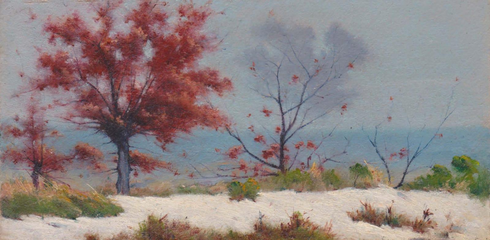 EDOUARD ATHÉNOSY, Winter, 1921