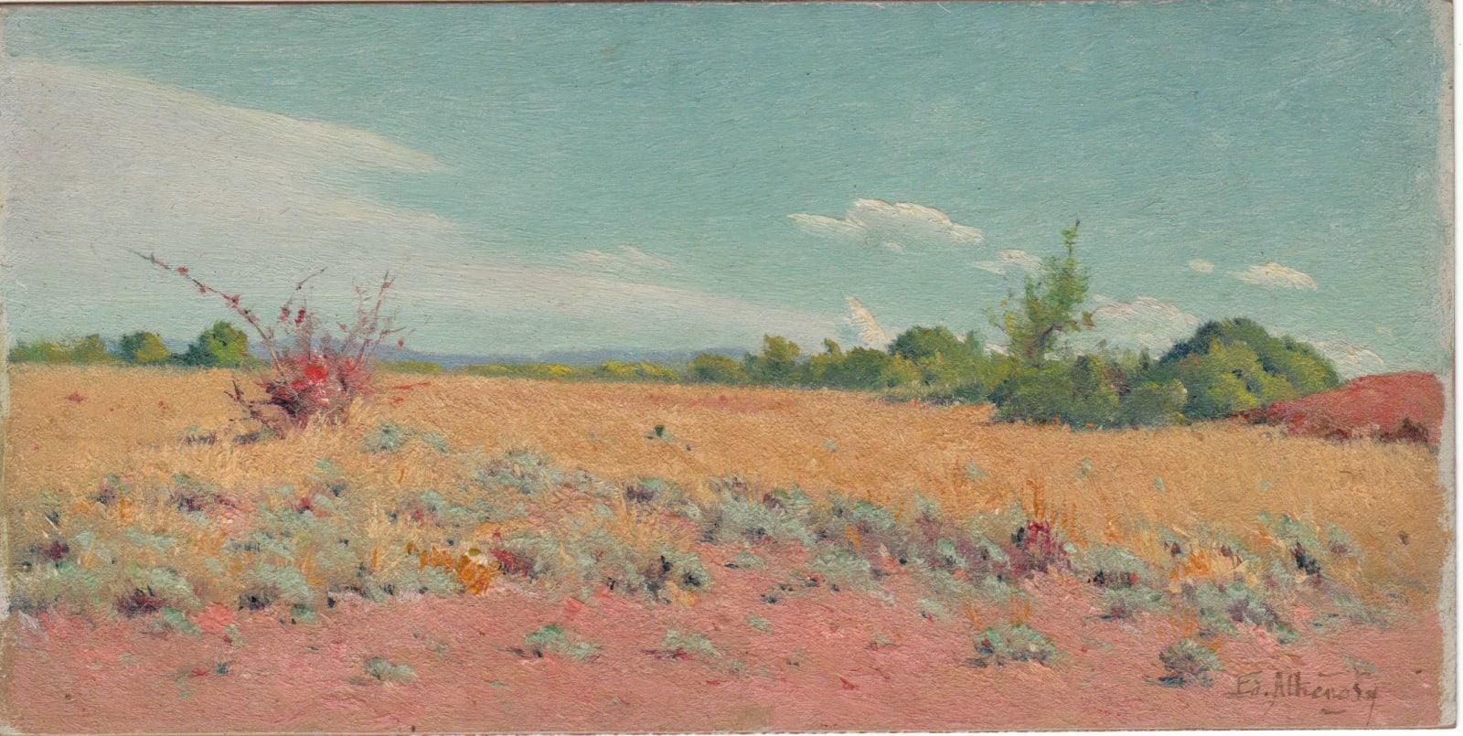 EDOUARD ATHÉNOSY, La Lande en plein soleil, c. 1919