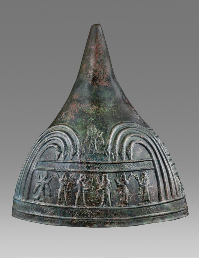 5. Urartian Helmet Urartu, Iron Age III, eighth to seventh century B.C.