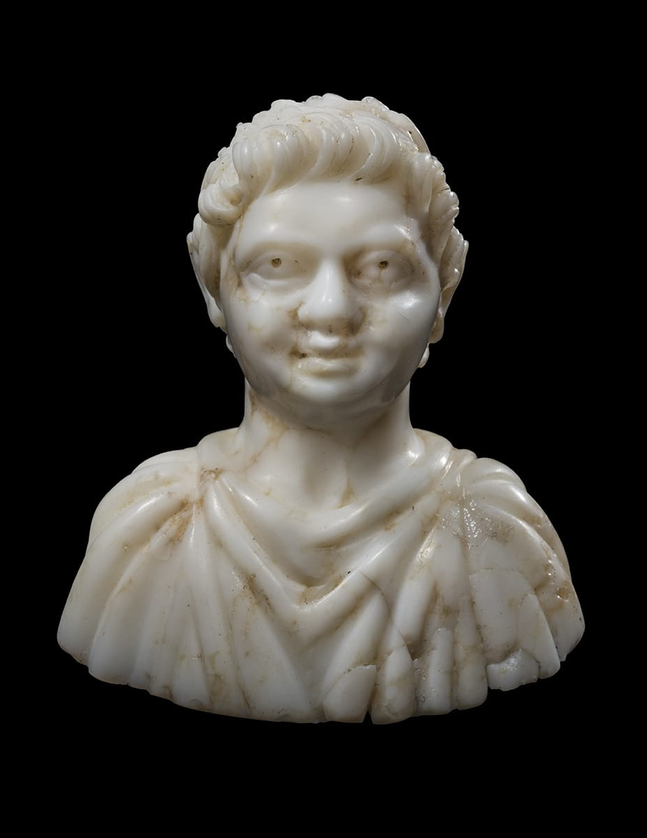 17. Bust of a Young Emperor Roman, Imperial Period, early third century A.D.
