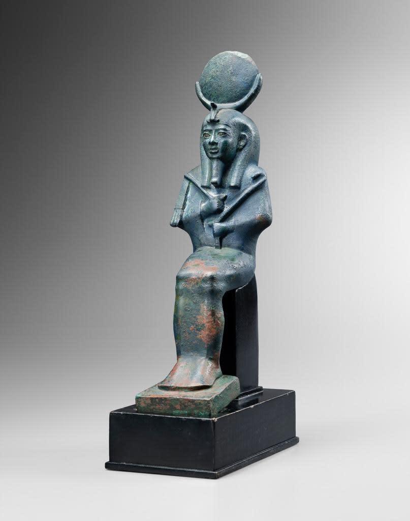 14. Bronze Statuette of Osiris Egyptian