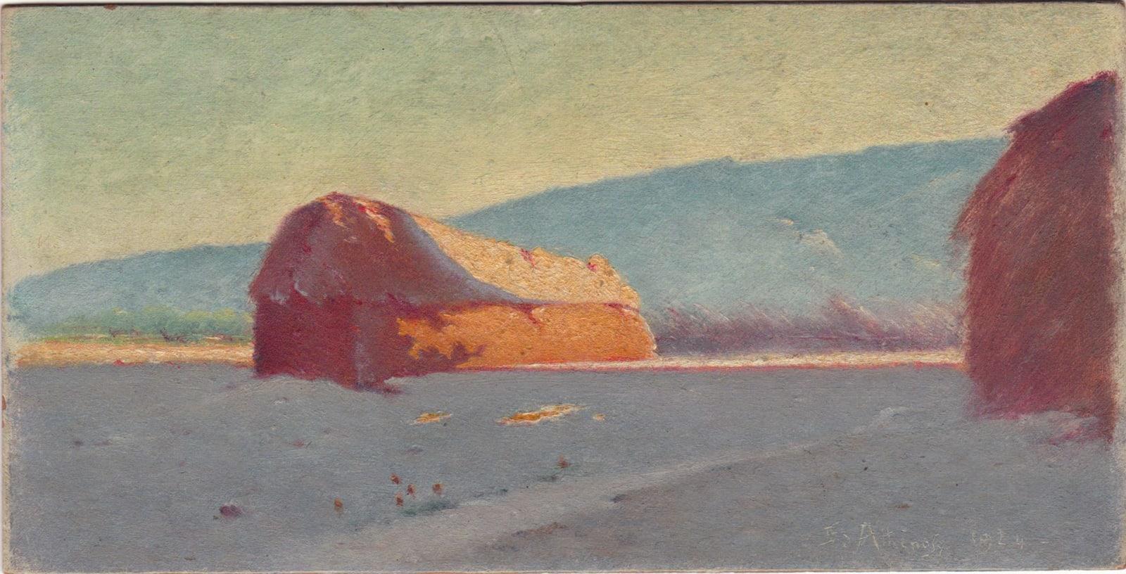 EDOUARD ATHÉNOSY, P-49, 1924