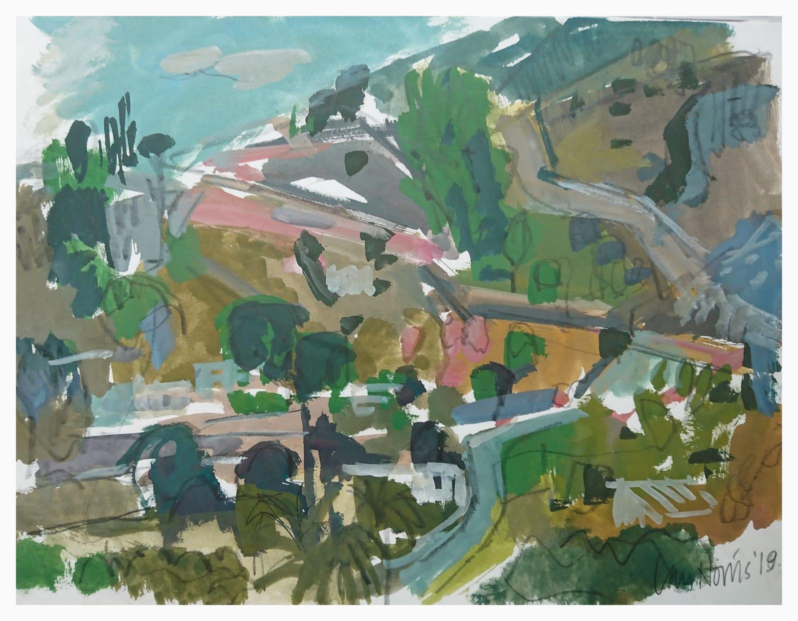 Ian Norris MAFA, Mountain Road