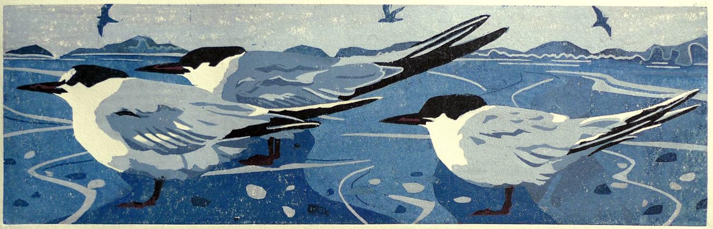 Ann Lewis RCA, Headwind II (Blue), 2021