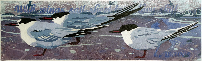 Ann Lewis RCA, Headwind I (Purple), 2021