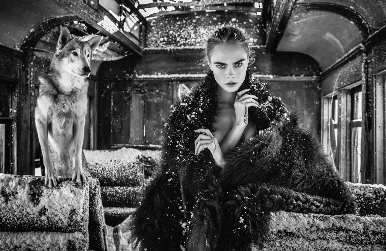 David Yarrow, The Girl on the Train