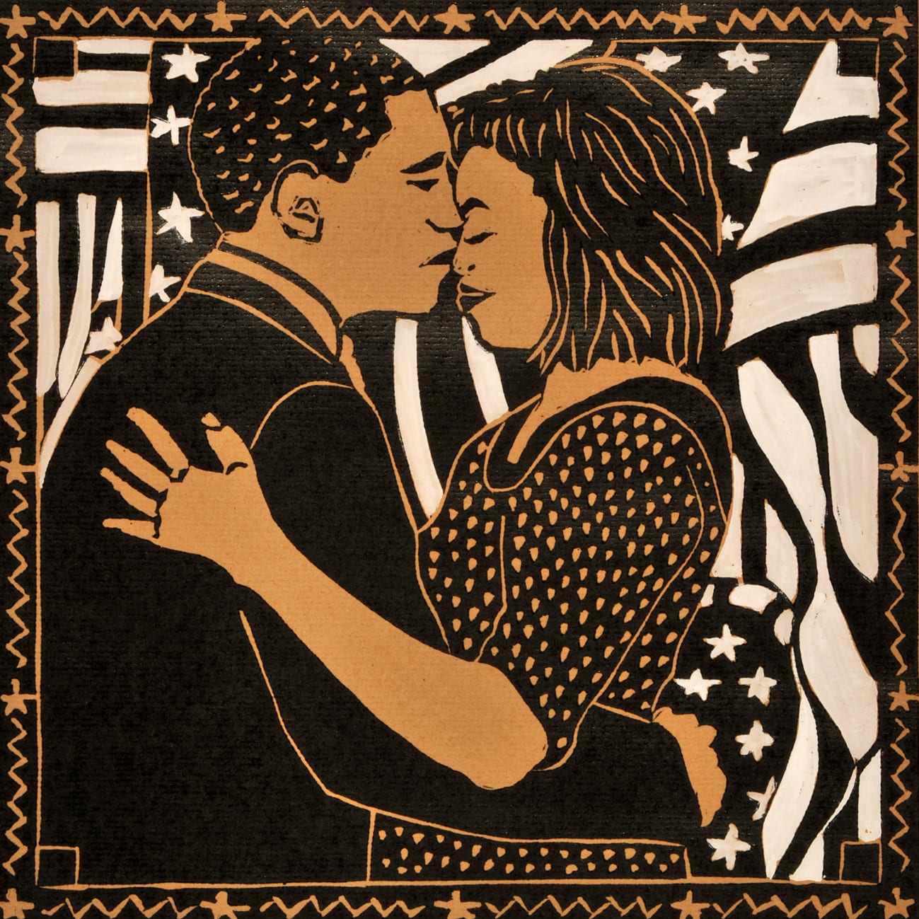Dione Verulam, The Obama Kiss