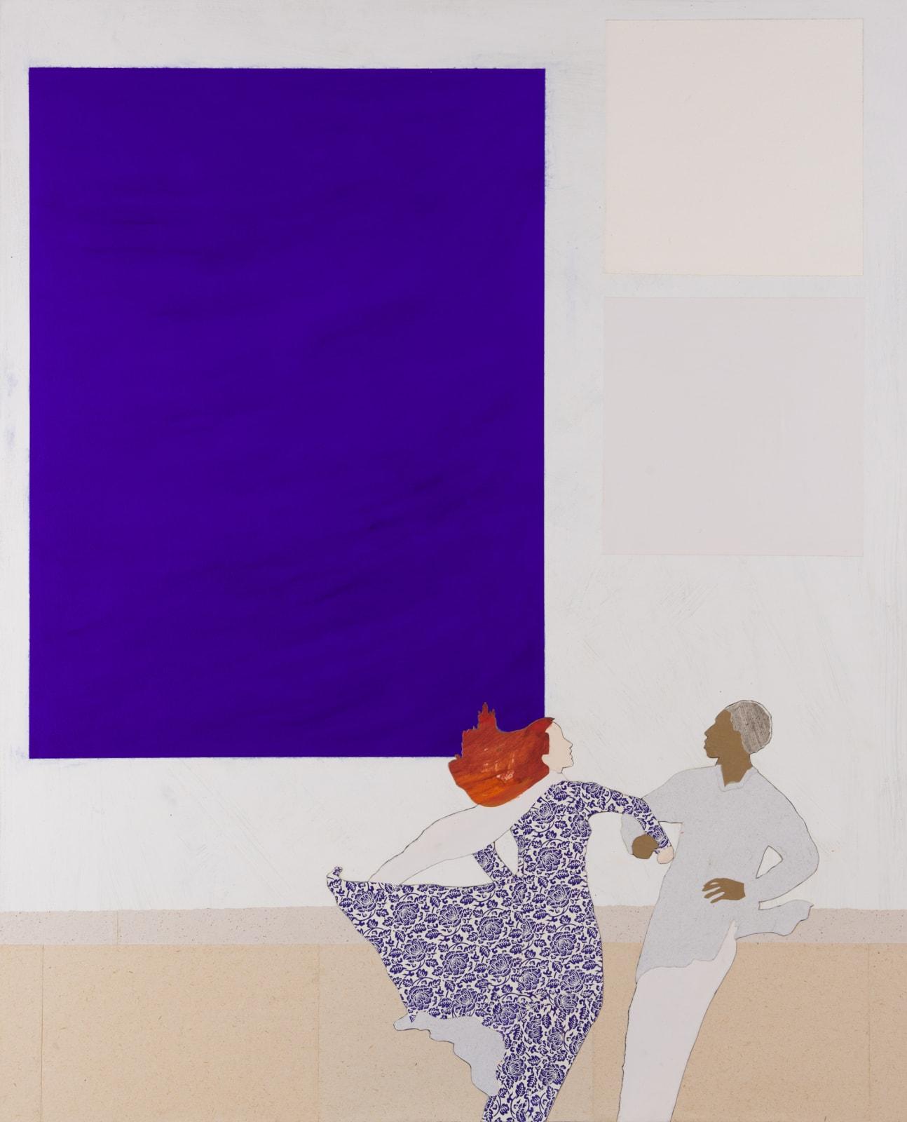 Dione Verulam, Klein inspires Dancing (London Gallery)
